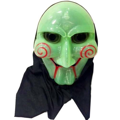 Testere Filmi Neon Yüz Maskesi Halloween Kostüm Korku Maskesi