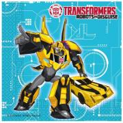 20 Adet Transformers Doğum Günü Konsepti Parti Peçetesi