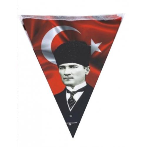 Türk Bayrağı, Atatürk Süslemesi, 19 Mayıs Süsleme Malzemeleri Flama