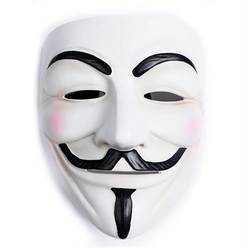 V For Vendetta Maskesi, Cadılar Bayramı Maske Kostüm Partisi