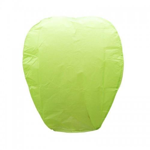 1 Adet Uçan Yeşil Dilek Feneri Özel Gün Dilek Balonu Kandili